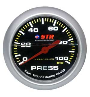 Oil Pressure Mechanical Liquid Filled Gauge | High Performance