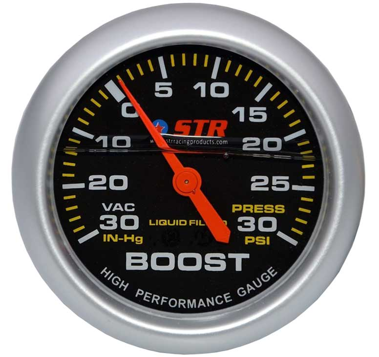 Turbo Boost Mechanical Liquid Filled Gauge | High Performance