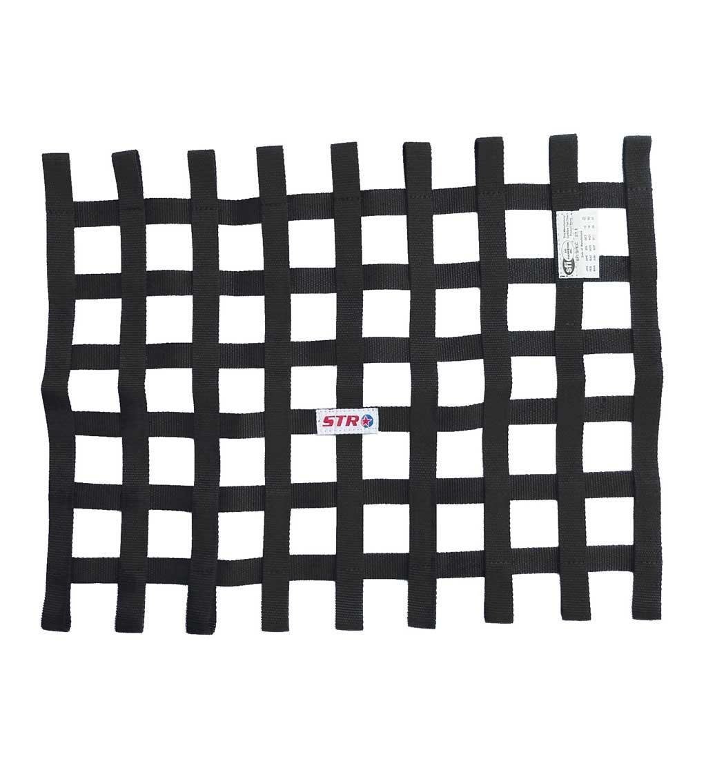 Standard Rectangular Window Net - Black