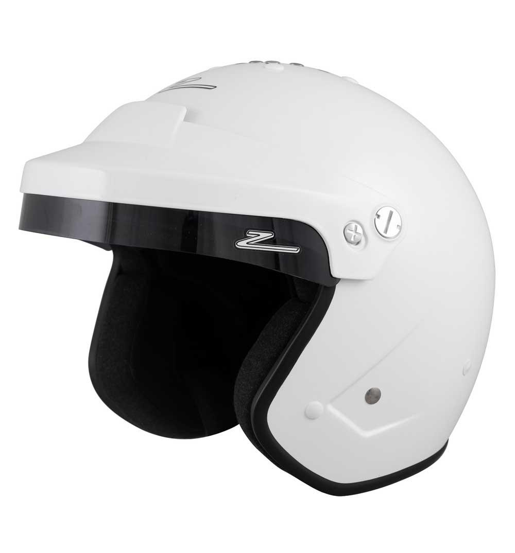 Zamp Helmet RZ 18H - White - Medium 58cm