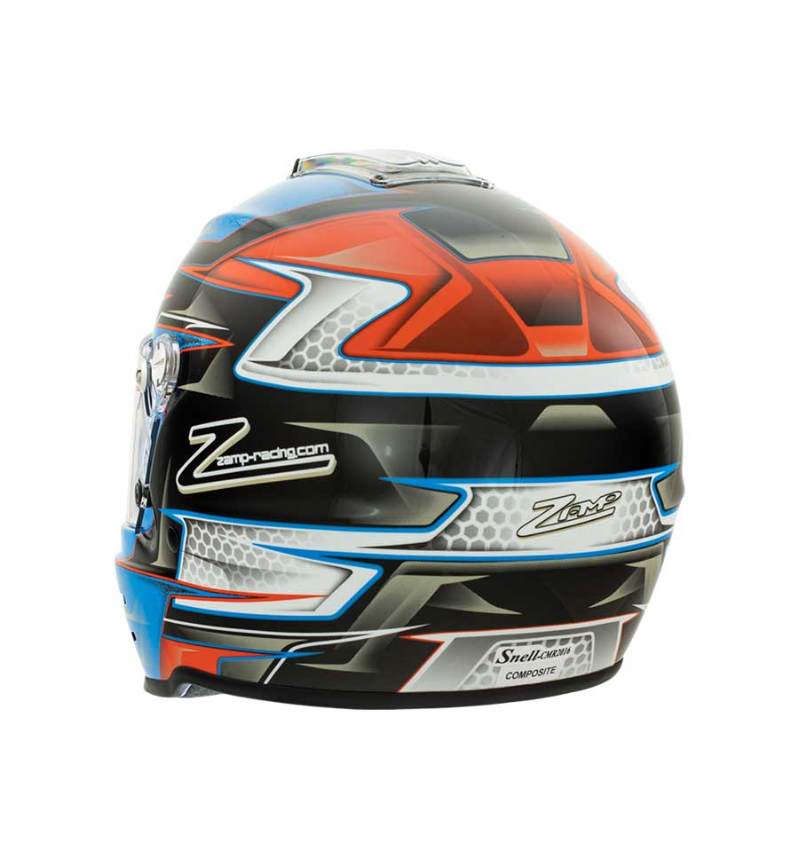 Zamp RZ 42 Youth Helmet CMR2016 - Orange/Blue