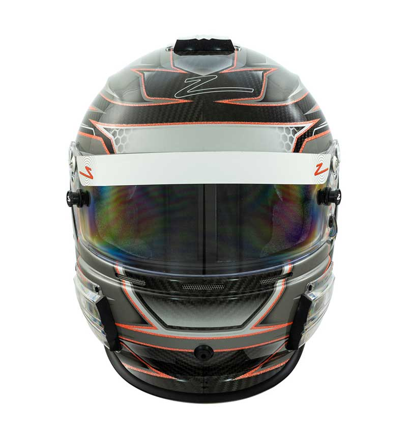 Zamp Helmet RZ 44 - Carbon Orange