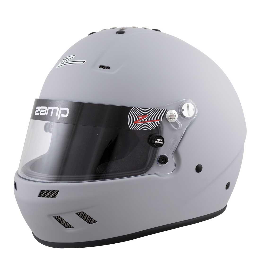 Zamp Helmet RZ 59 -  Matte Grey -  Large 60cm
