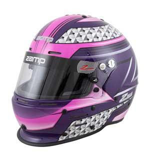 Zamp RZ 62 Helmet SA2020 - Pink/Purple