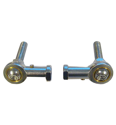 M12 x 1.75mm Male - Female Studded Rod End Joint (Pair)