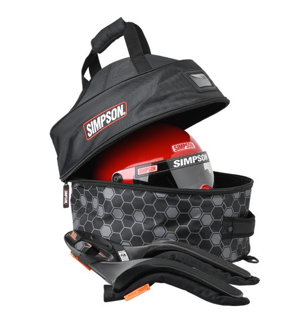 Simpson Plush Helmet and FHR Combo Bag