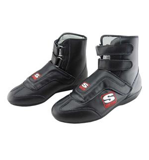 Simpson Stealth Sprint Boot - Black Leather