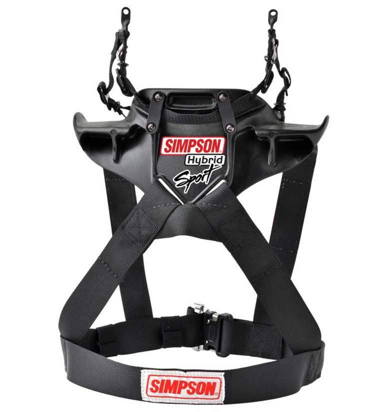 Simpson Hybrid Sport QR Head & Neck Restraint