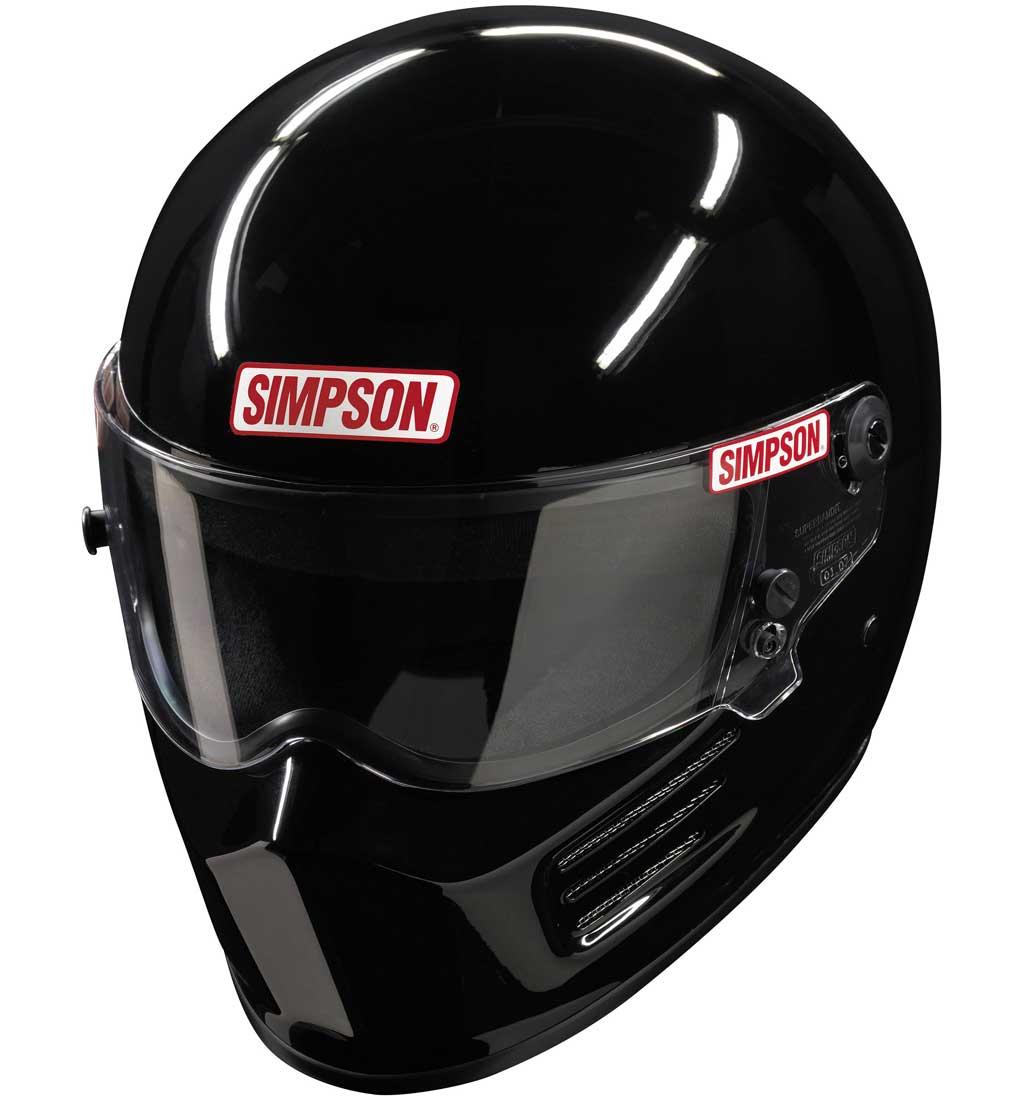 Simpson Bandit Helmet - SA2015 - Gloss Black