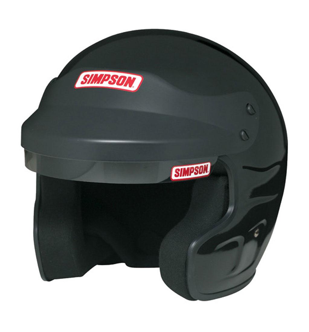 Simpson Cruiser Helmet - SA2015 - Black