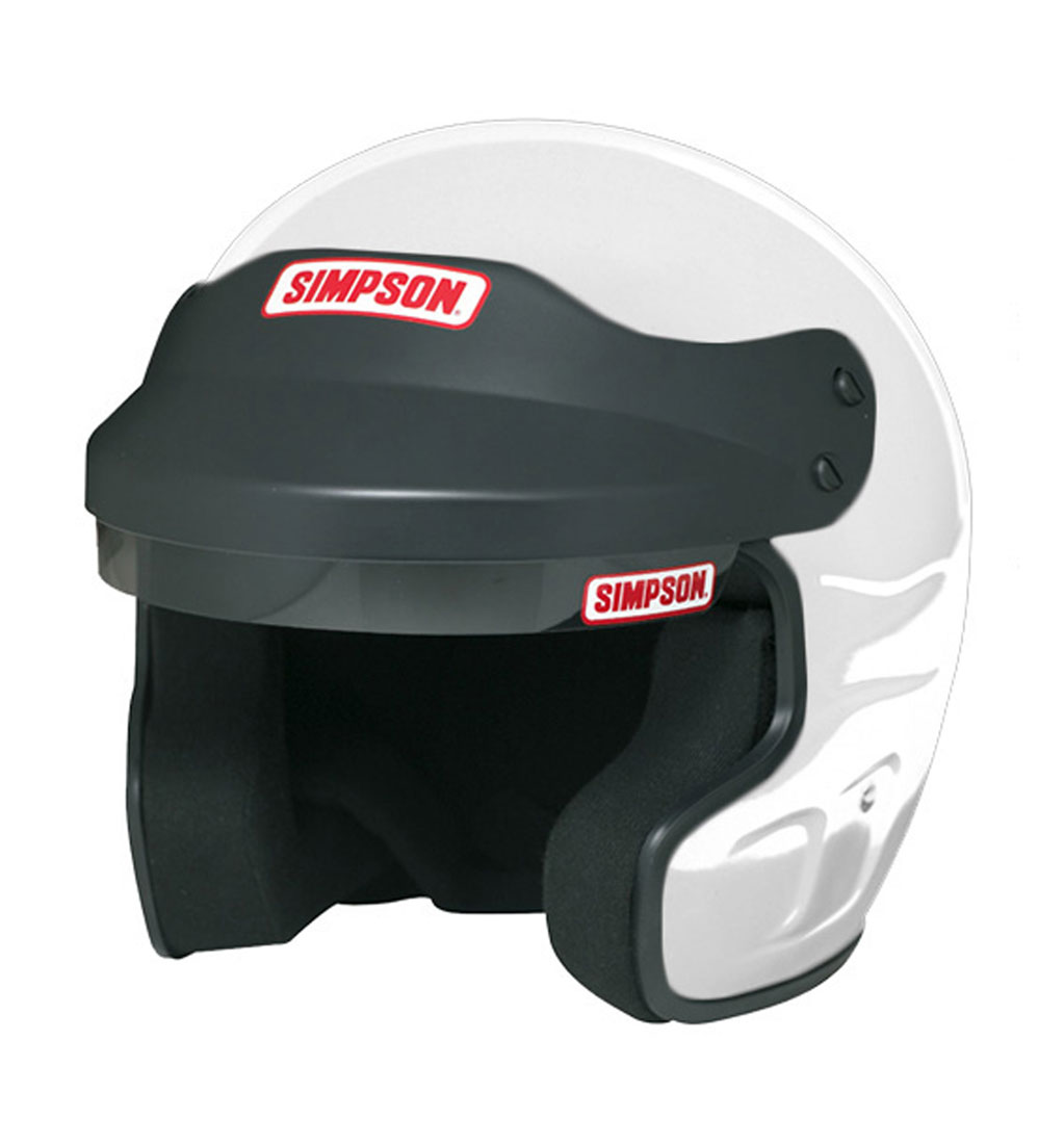 Simpson Cruiser Helmet - SA2015 - White