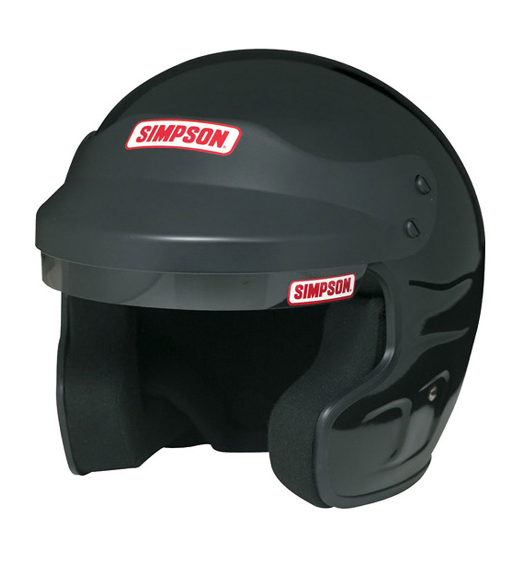 Simpson Cruiser Helmet Black SA2010 Small