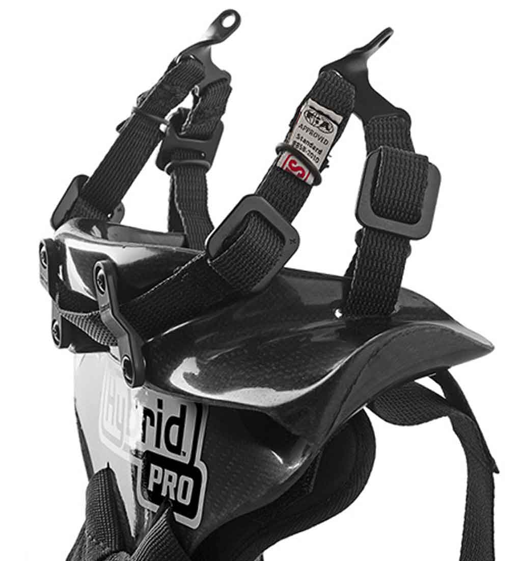 Simpson Hybrid Pro Lite Head & Neck Restraint - Carbon