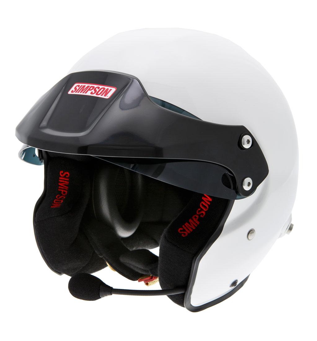 Simpson Rally Helmet With Intercom - SA2015