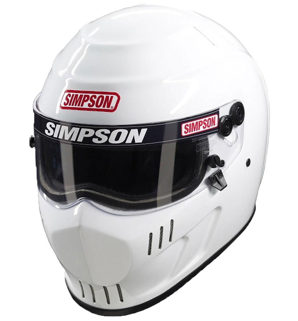 "Simpson Speedway RX SA2015 White Large (59cm/7.1/2"")"
