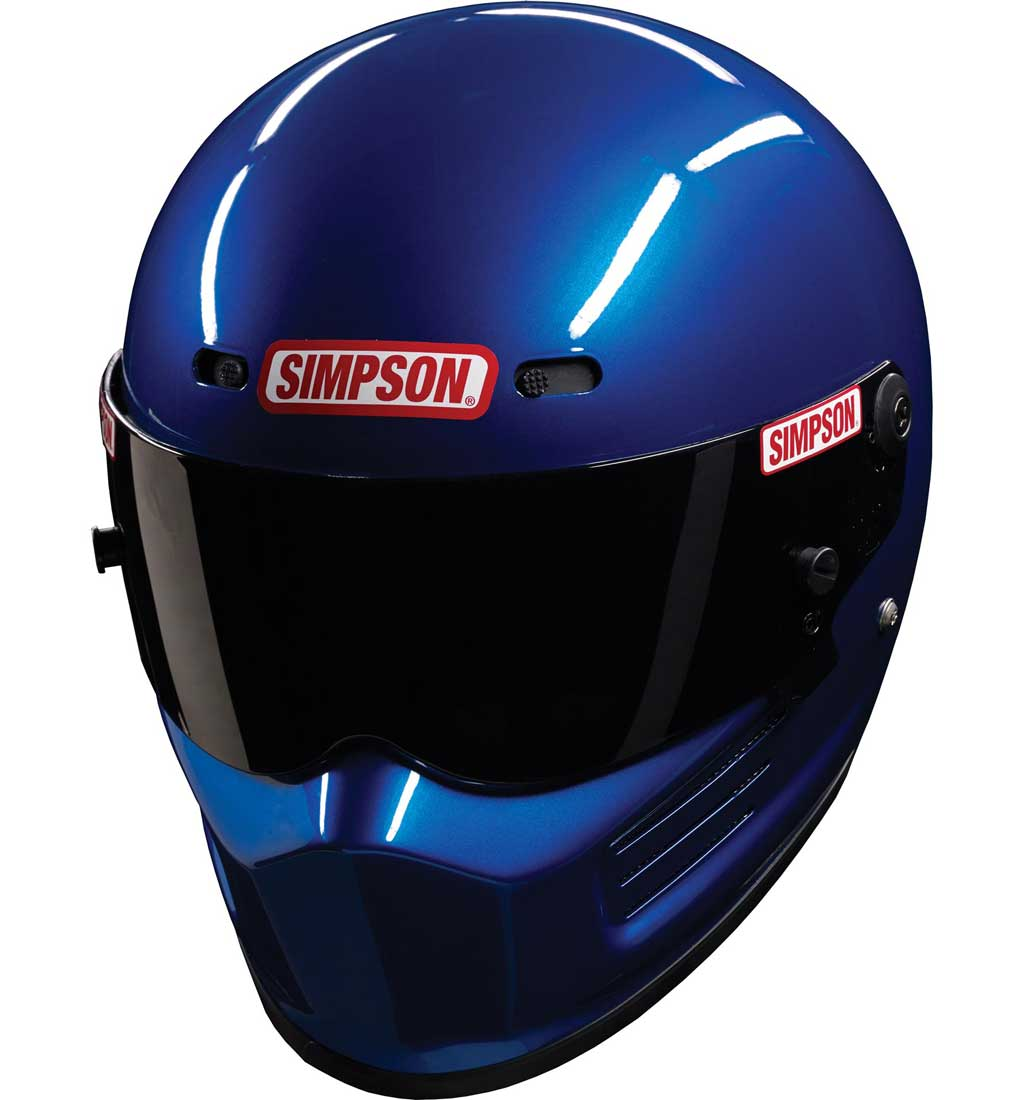 Simpson Super Bandit Helmet - SA2015 - Blue