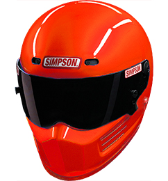 Simpson Super Bandit Helmet | SA2020 | Orange | M