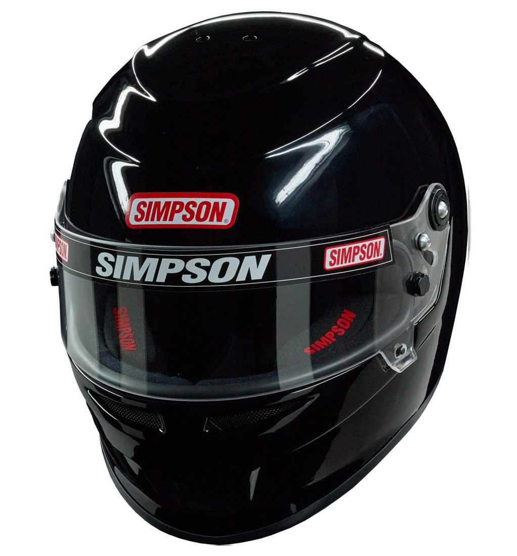 Simpson Venator Helmet - SA2015 - Black