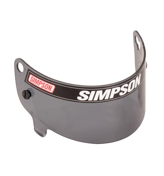 Simpson JR Speedway Shark Visor Smoke