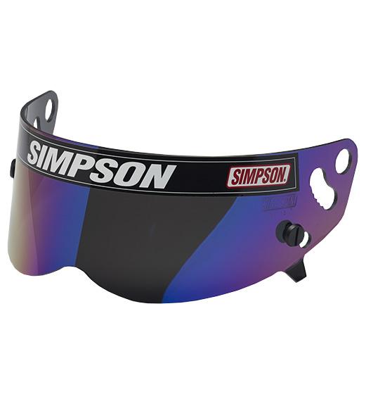 Simpson Speedway RX/Diamondback Visor Iridium