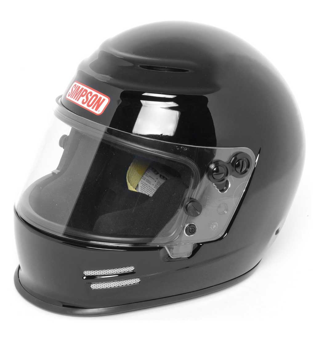 Simpson Voyager 2 Helmet | SA2015 | Black | Medium