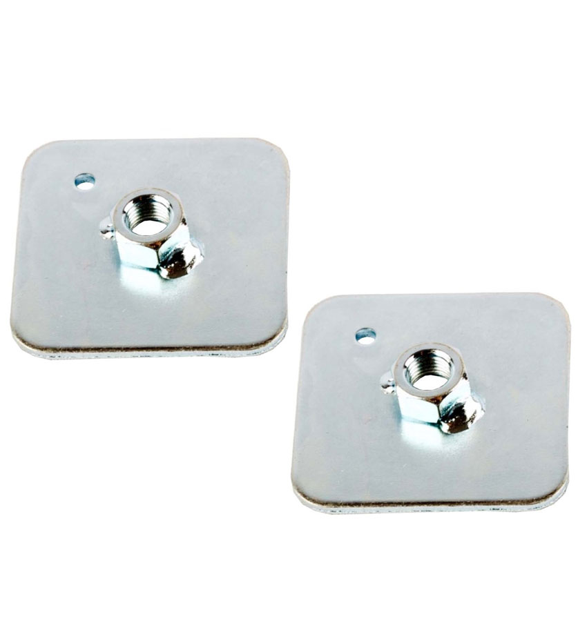 Square Backing Plate for Harness Attachment