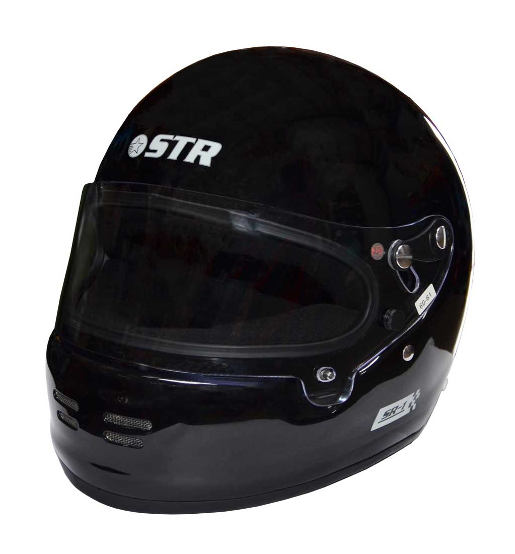 STR SR-1  Helmet - FIA 8859-2015 - SA2015 - Matt Black