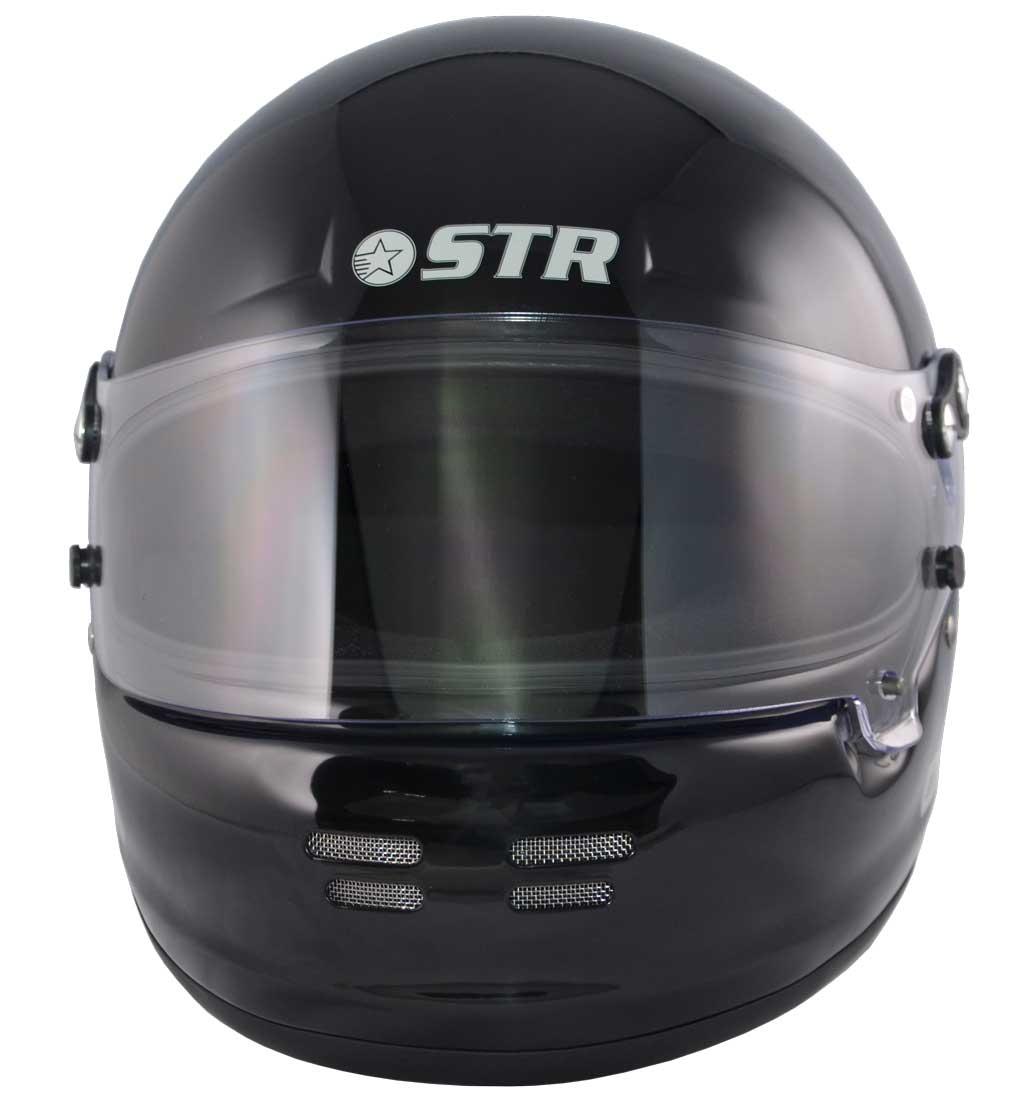STR SR-1  Helmet - FIA 8859-2015 - SA2015 - Gloss Black