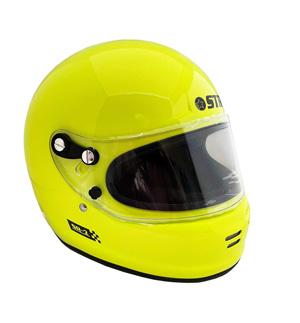 STR SR-2 Helmet FIA 8859-2015 SA2015 - Yellow Fluo