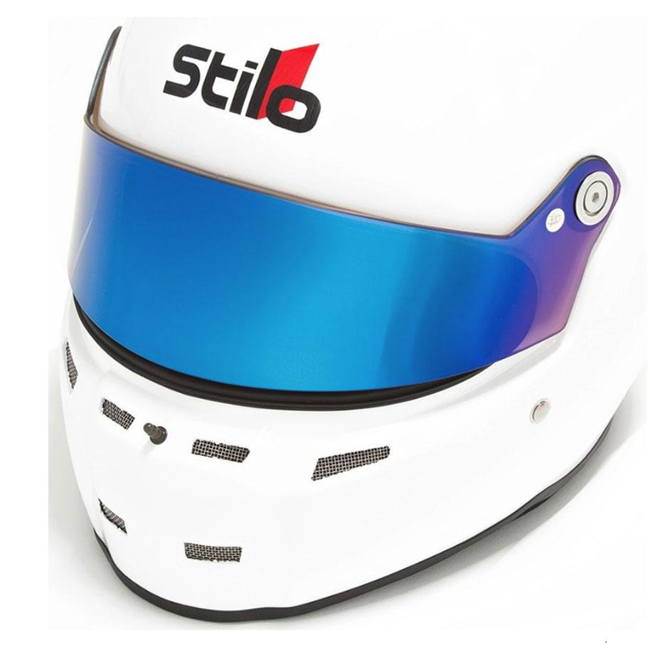 Stilo Short Visor (ST5) Blue Iridium Dark YA0836