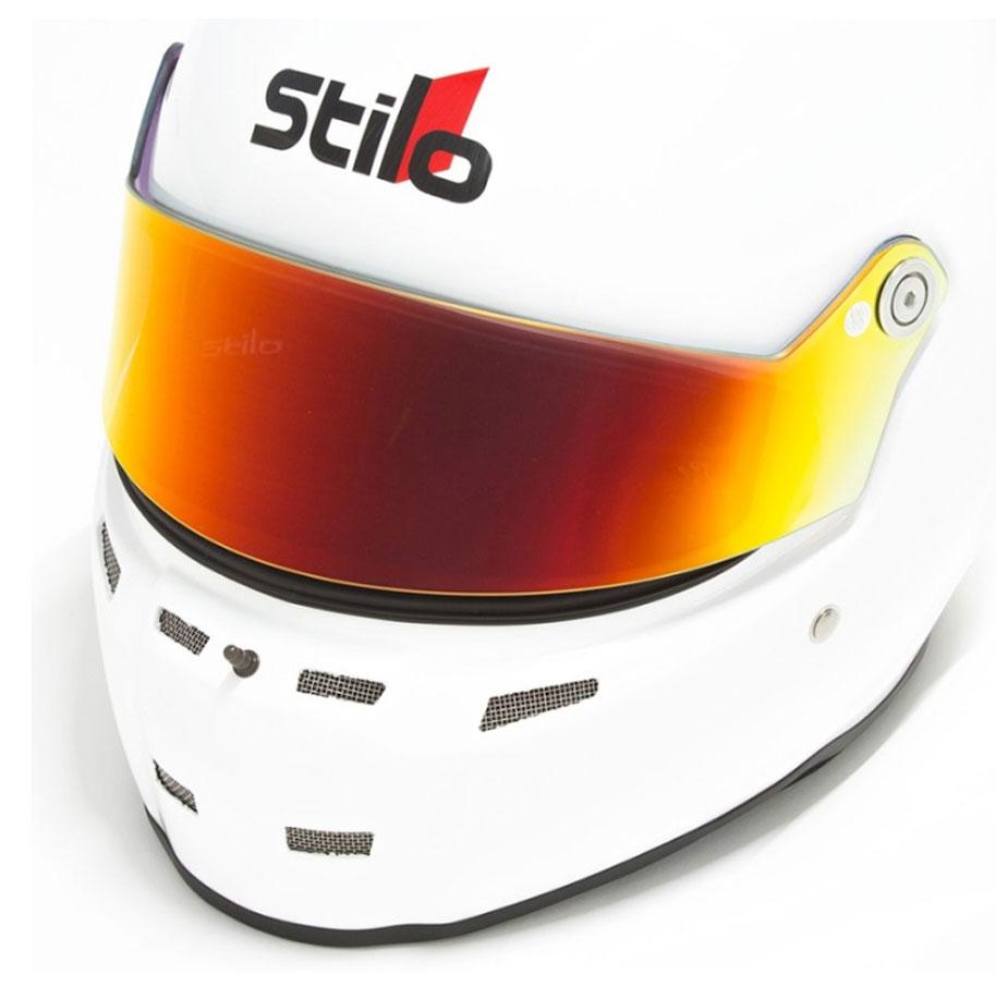 Stilo Short Visor (ST5) Red Iridium YA0837