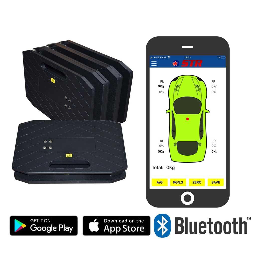 STR Wireless App Cornerweight Scales