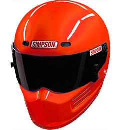 Simpson Super Bandit Helmet - SA2020 - Orange