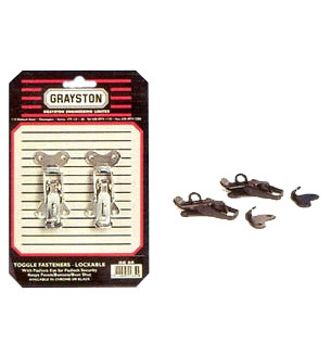 Grayston Toggle Fasteners Lockable