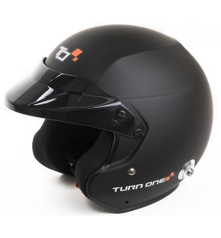 Turn One Jet-RS Black FIA8859-15 Medium (57)