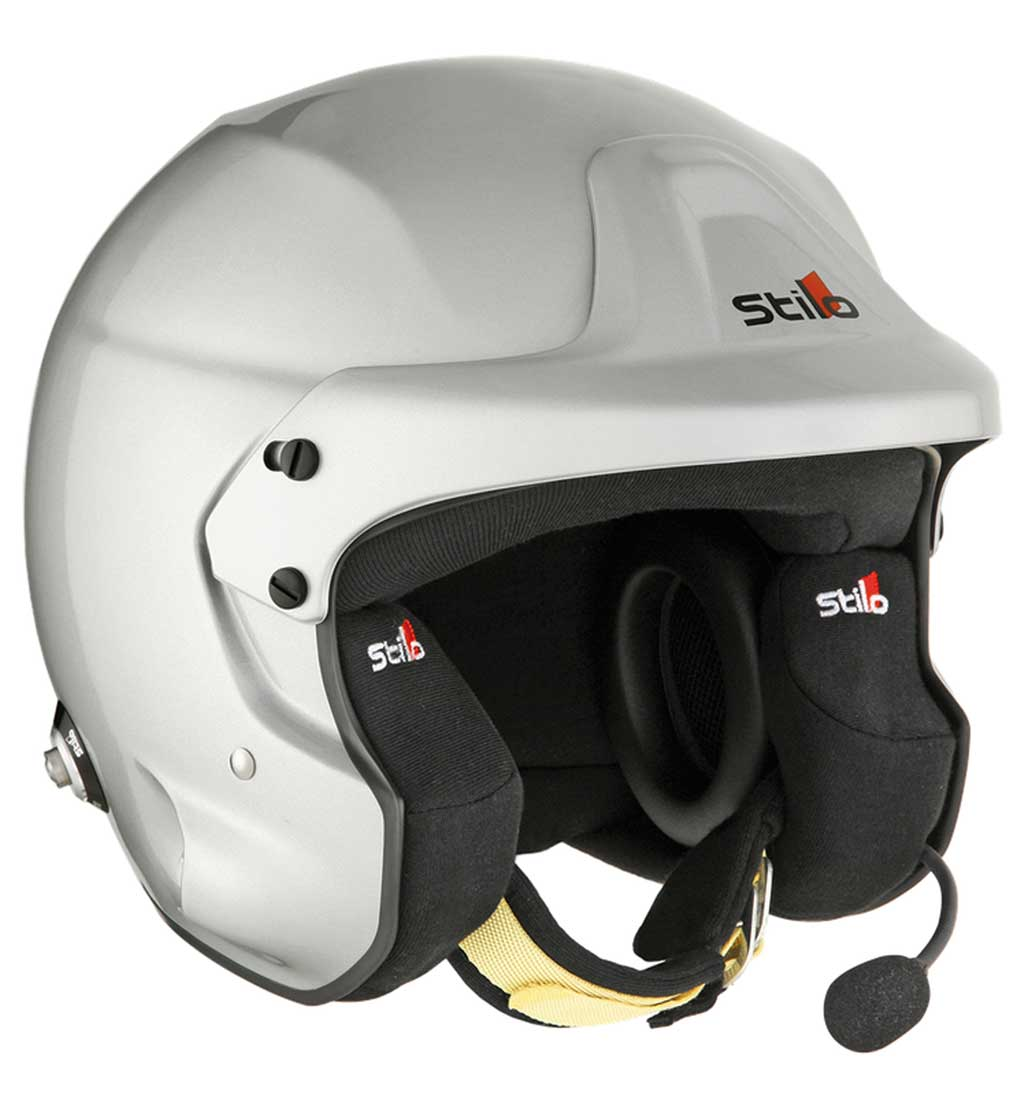 Stilo Trophy DES Plus Helmet SA2020 + Hans Posts Small (55)