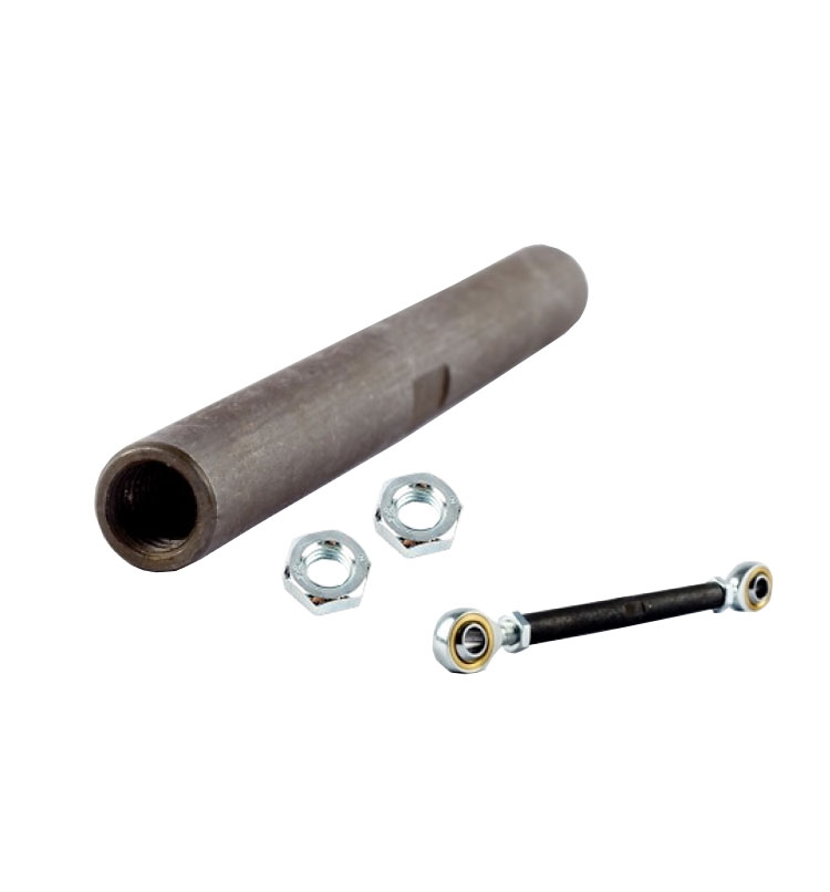 M6 Turnbuckle Link + Nuts | Adjustment: 150mm-180mm Linkage 6mm