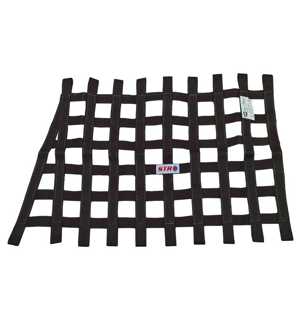 Trapezoidal Window Net - Black