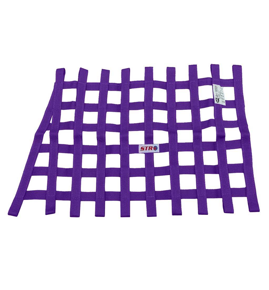 Trapezoidal Window Net - Purple
