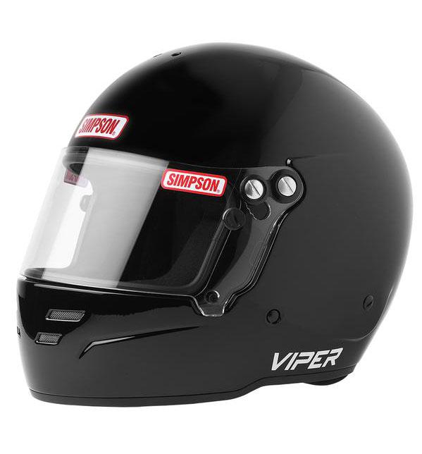 Simpson Viper Helmet - SA2020 - Black