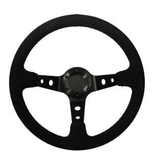 "Rally Steering Wheel - 13"" Wheel with 3"" Dish"
