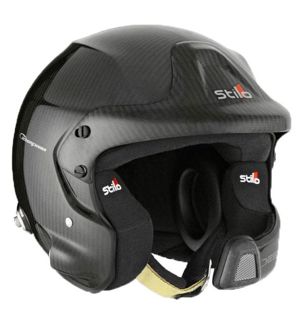 Stilo WRC DES Carbon Piuma Helmet SA2015 + Hans Posts X Small (53)