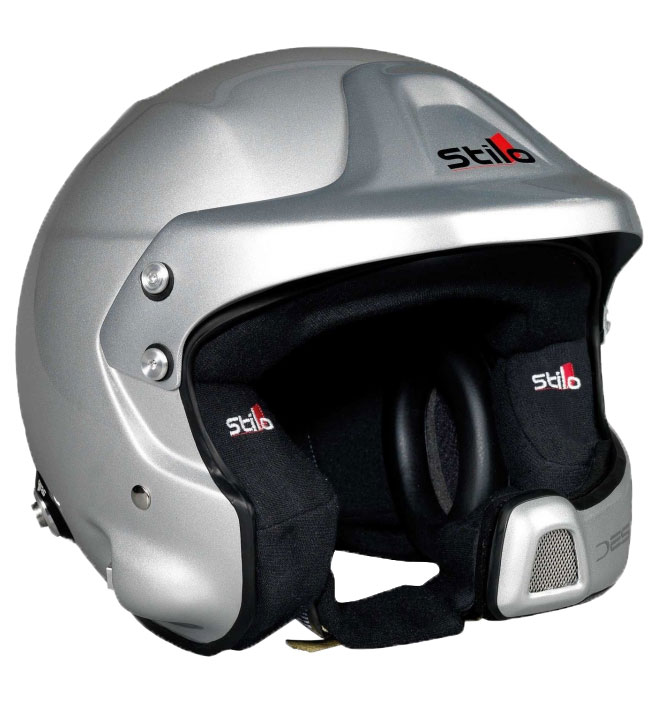 Stilo WRC Des Composite Helmet SA2015 + Hans Posts Medium (57)