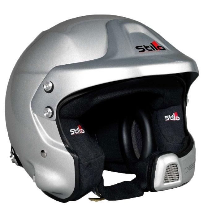 Stilo WRC Des Composite Helmet SA2015 + Hans Posts XX Large (63)