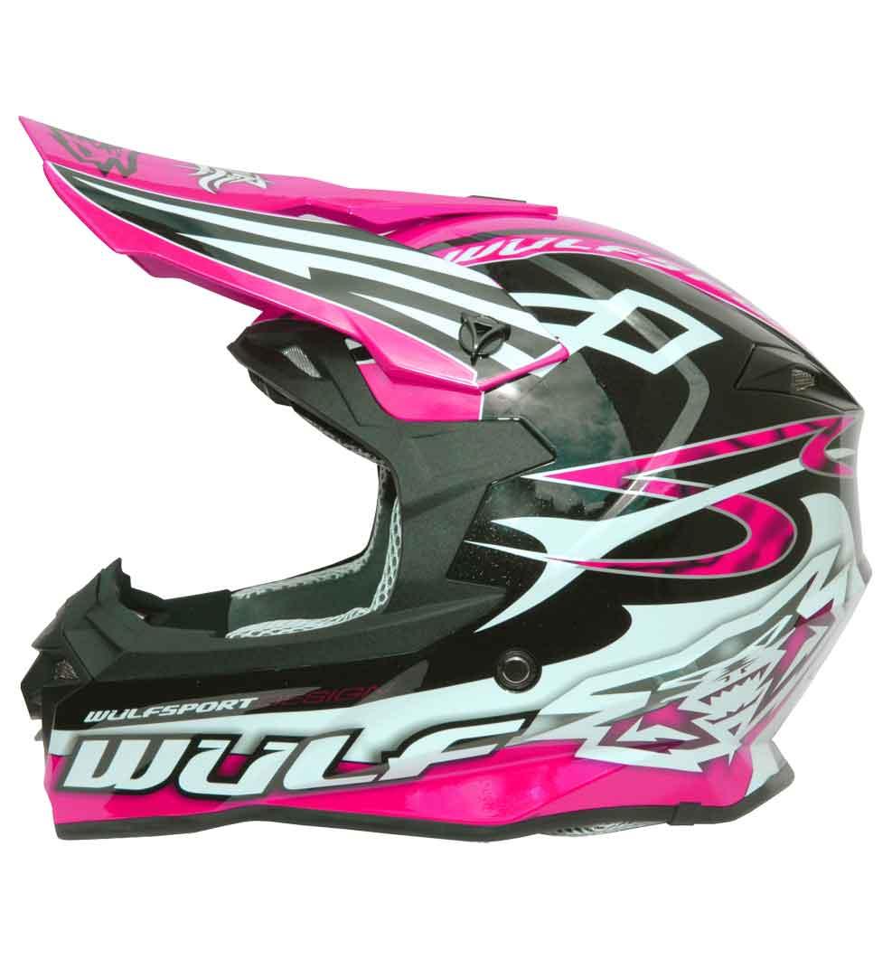 Wulfsport Sceptre Helmet | Pink | Medium (57-58cm)