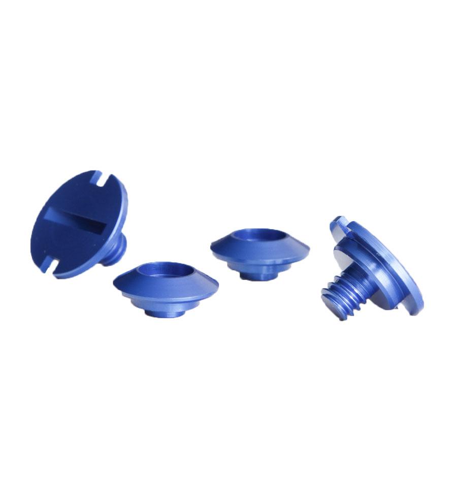 Zamp Shield Retention Kit - Blue