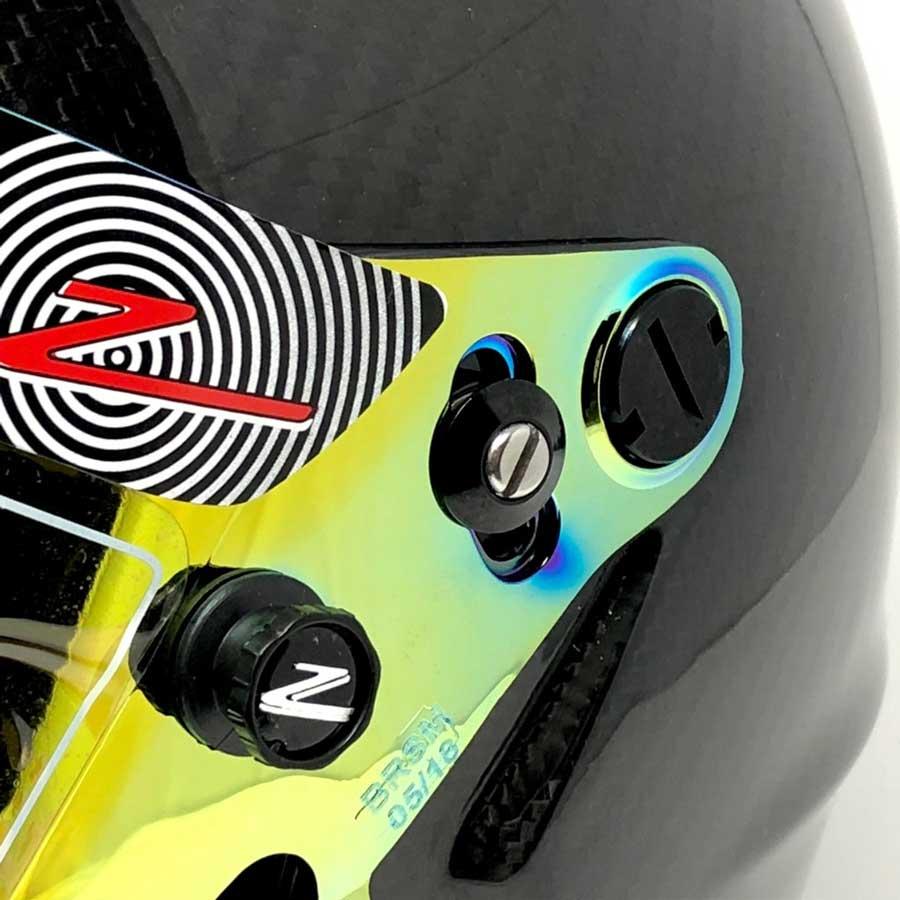 Zamp Shield Retention Kit - Black