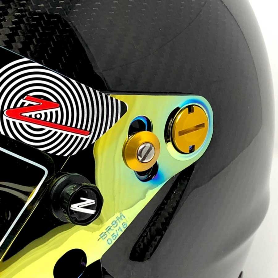 Zamp Shield Retention Kit - Gold