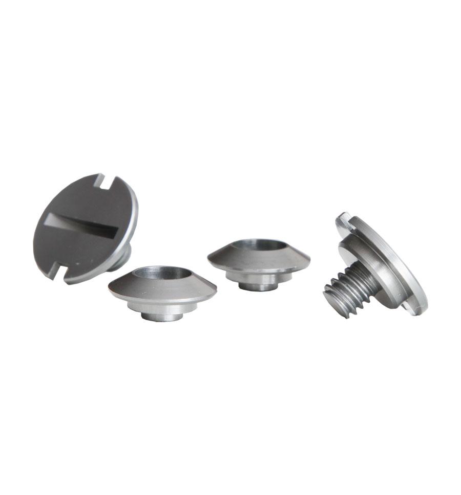 Zamp Shield Retention Kit - Gun Metal