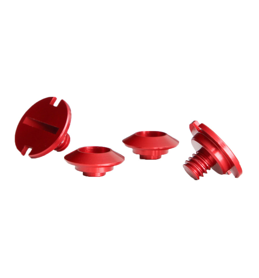 Zamp Shield Retention Kit - Red